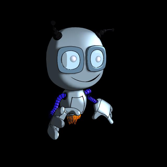 """Модель Робота - Ребёнка """"Роботёнок"""" фото f_4b5790e70667d.png"""