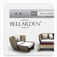 Дизайн сайта: производство курортной мебели