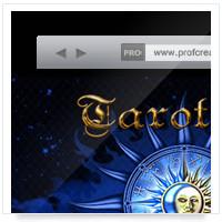 Дизайн сайта: Таротека ру, таро сновидений