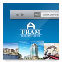 Дизайн сайта: FRAM Building Group LCC