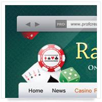 Дизайн сайта: Ram - обзор он лайн казино