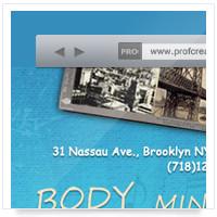 Дизайн сайта: Human@Ease - йога, фитнес, спорт