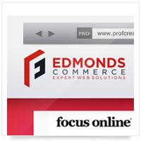 Дизайн сайта: Edmonds Commerce Magento