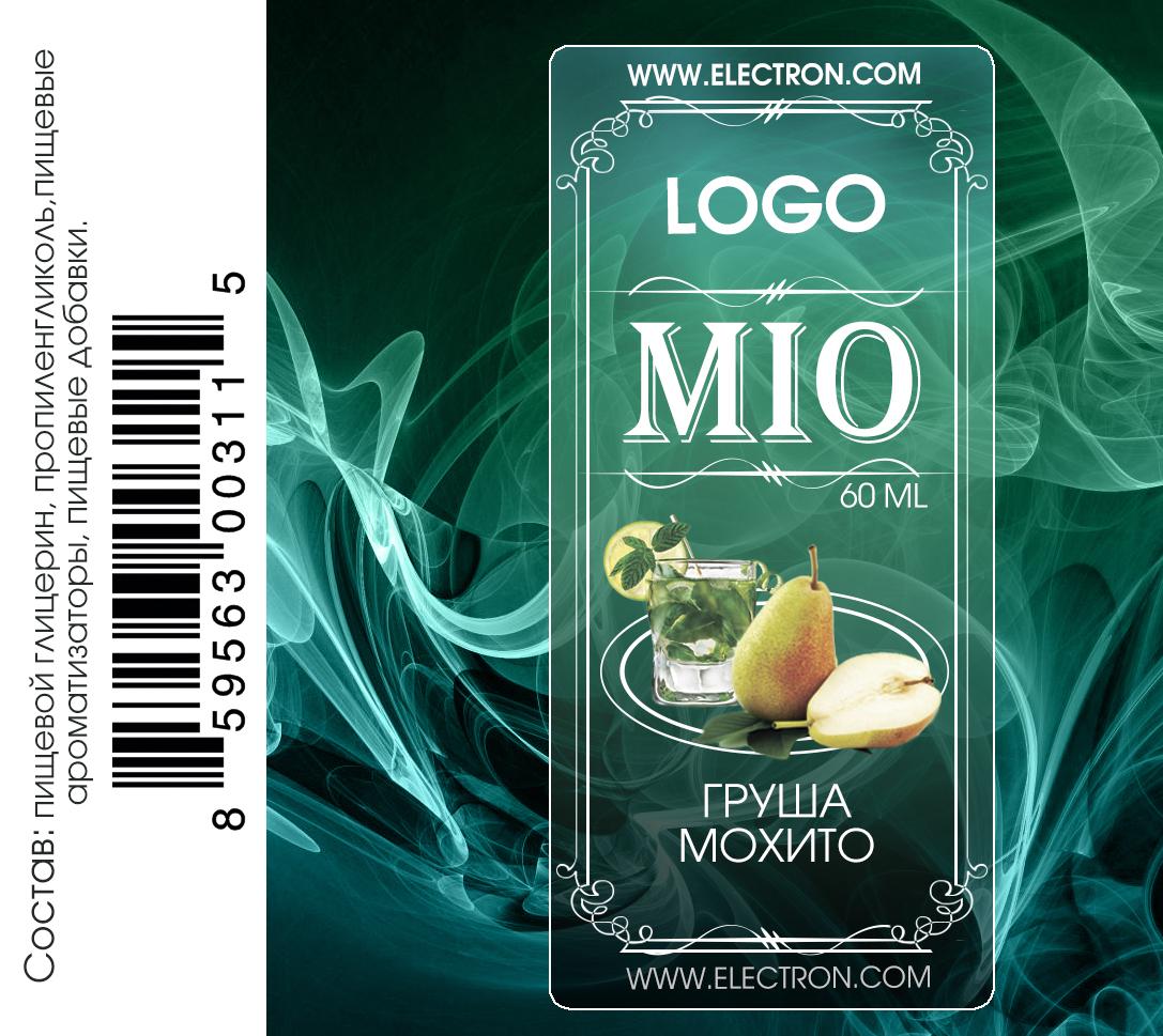 Этикетка для жидкости электронных сигарет  фото f_77458f5821030095.jpg