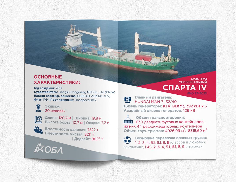Инфографика для журнала о новом корабле компании фото f_1915b69c85abc5e4.jpg