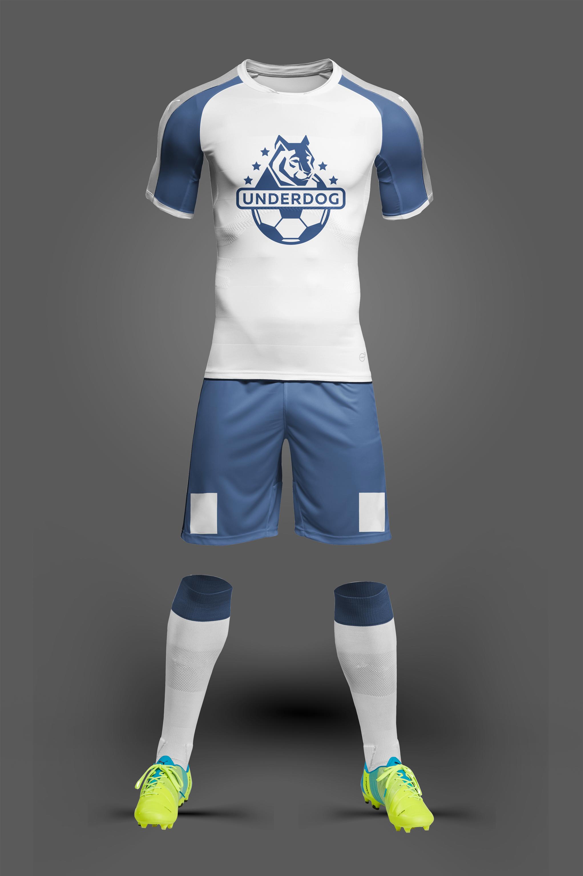 Футбольный клуб UNDERDOG - разработать фирстиль и бренд-бук фото f_9045cae48fb88ade.jpg