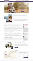 Лендинг аренда скутеров в Праге