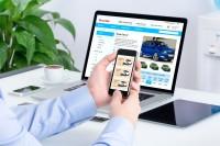 Сайт по  аренде машин
