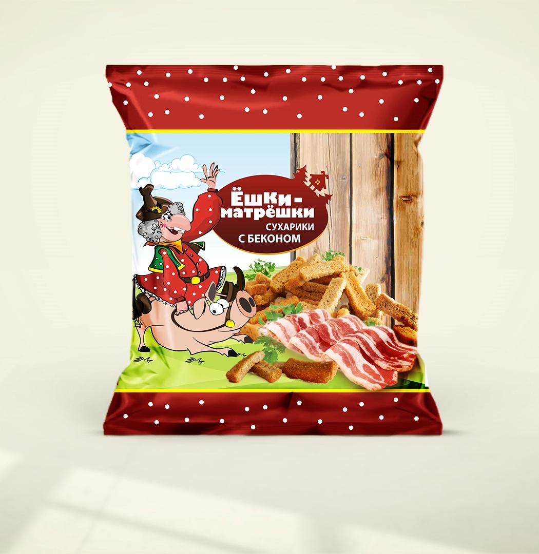 Разработайте дизайн упаковки сухариков ТМ «Ёшки-матрёшки» фото f_47259ea5c9ced1e4.jpg