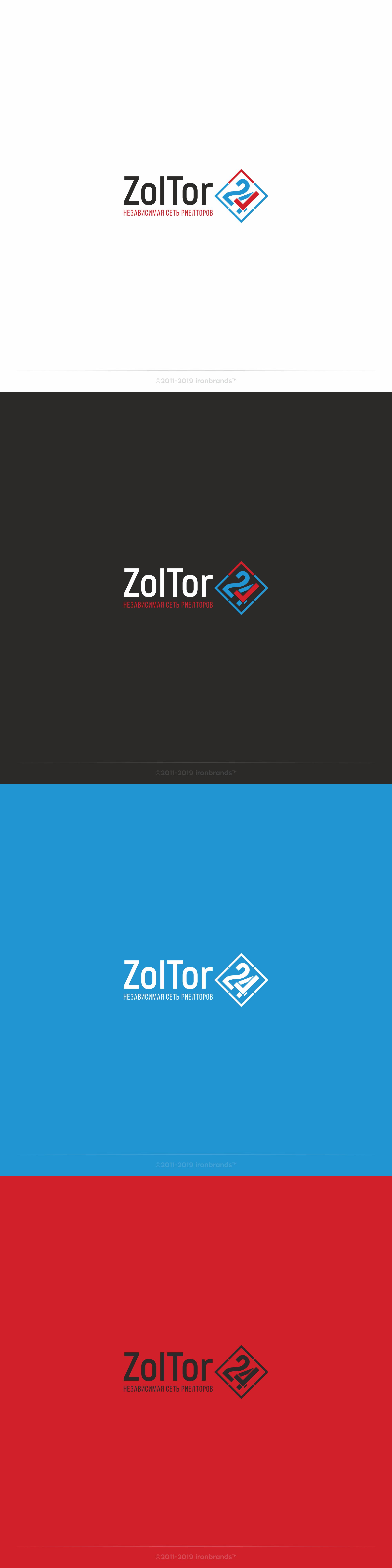 Логотип и фирменный стиль ZolTor24 фото f_0245c960bd21bb55.jpg
