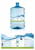 Первое место в конкурсе. Этикетка для воды «АкваМаракет»
