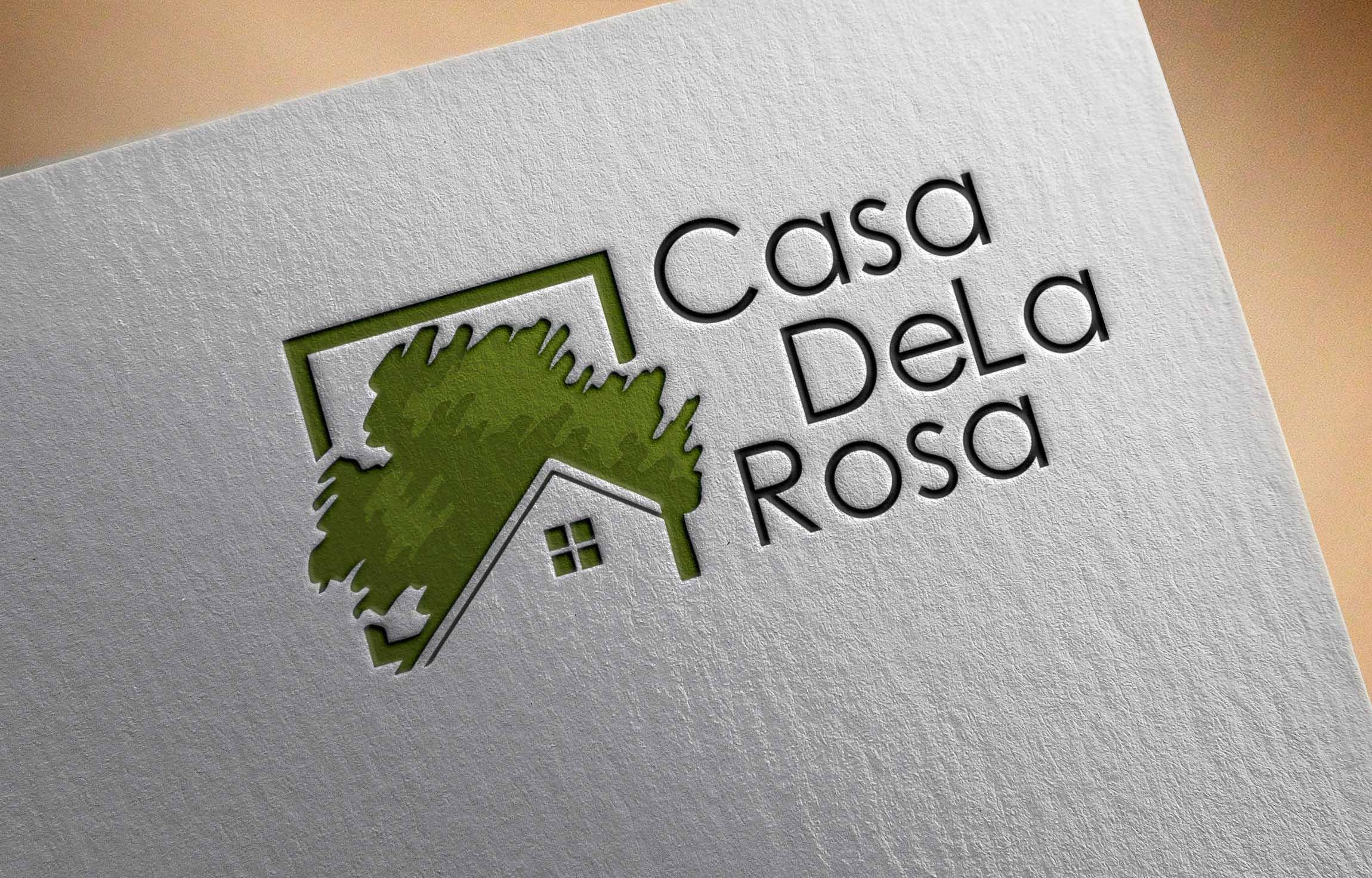 Логотип + Фирменный знак для элитного поселка Casa De La Rosa фото f_2455cd35205ac326.jpg