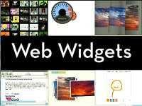 Разработка красивых и полезных виджетов для сайтов