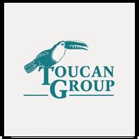 Логотип для сети ресторанов Toucan Group