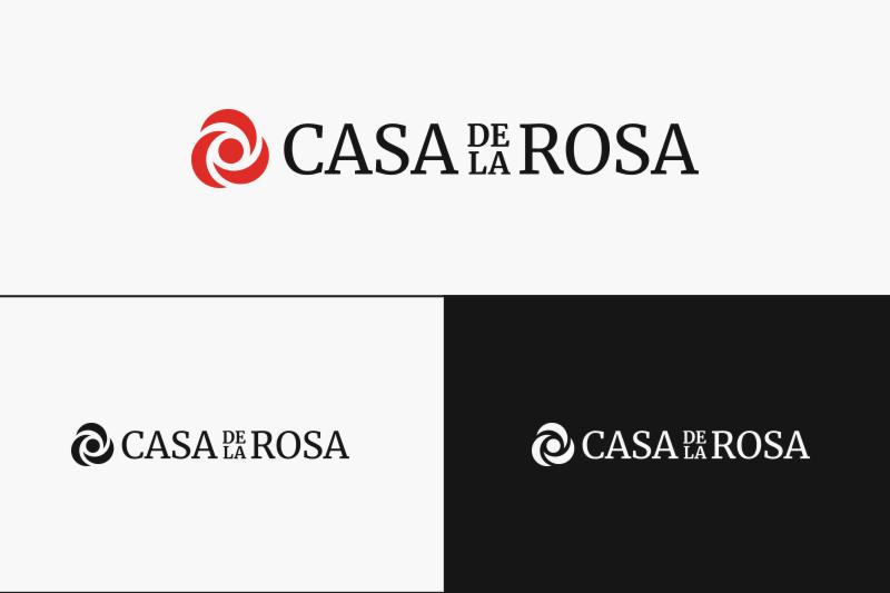 Логотип + Фирменный знак для элитного поселка Casa De La Rosa фото f_6015cd97bd916e37.jpg