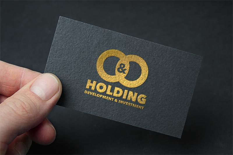 "Разработка Логотипа +  Фирменного знака для компании ""O & O HOLDING"" фото f_6815c7ce7d1e143e.jpg"