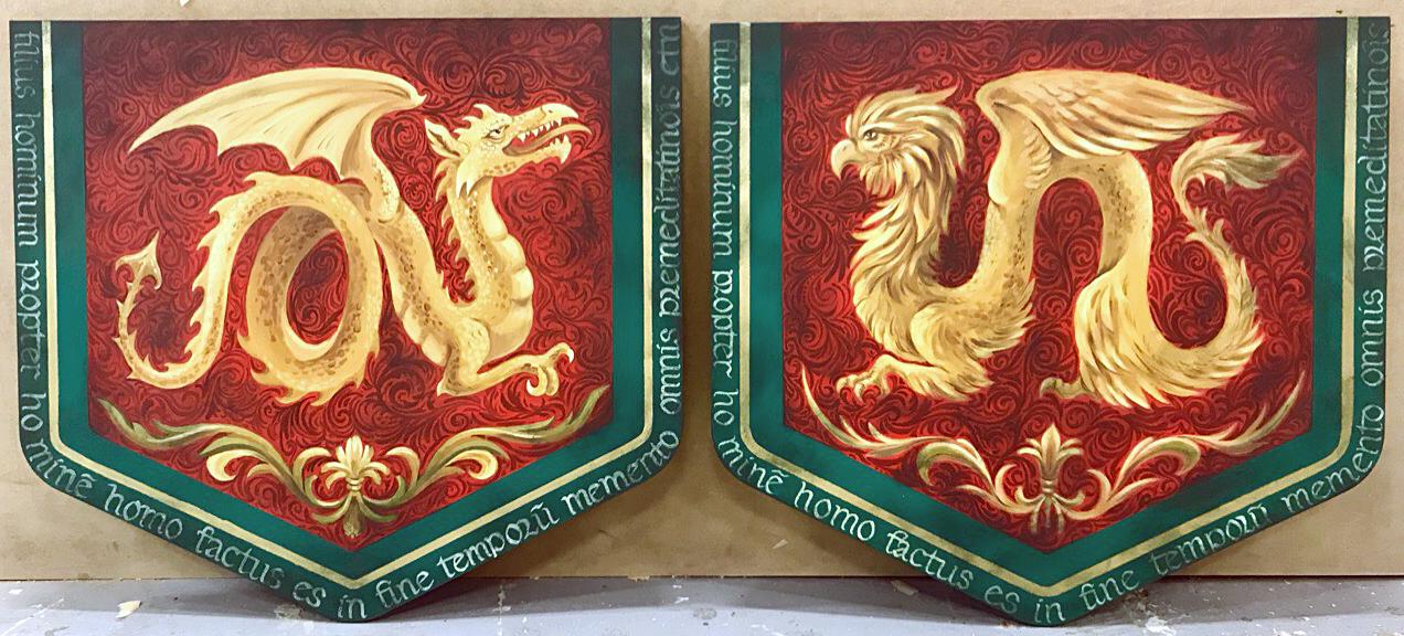 Дракон и грифон