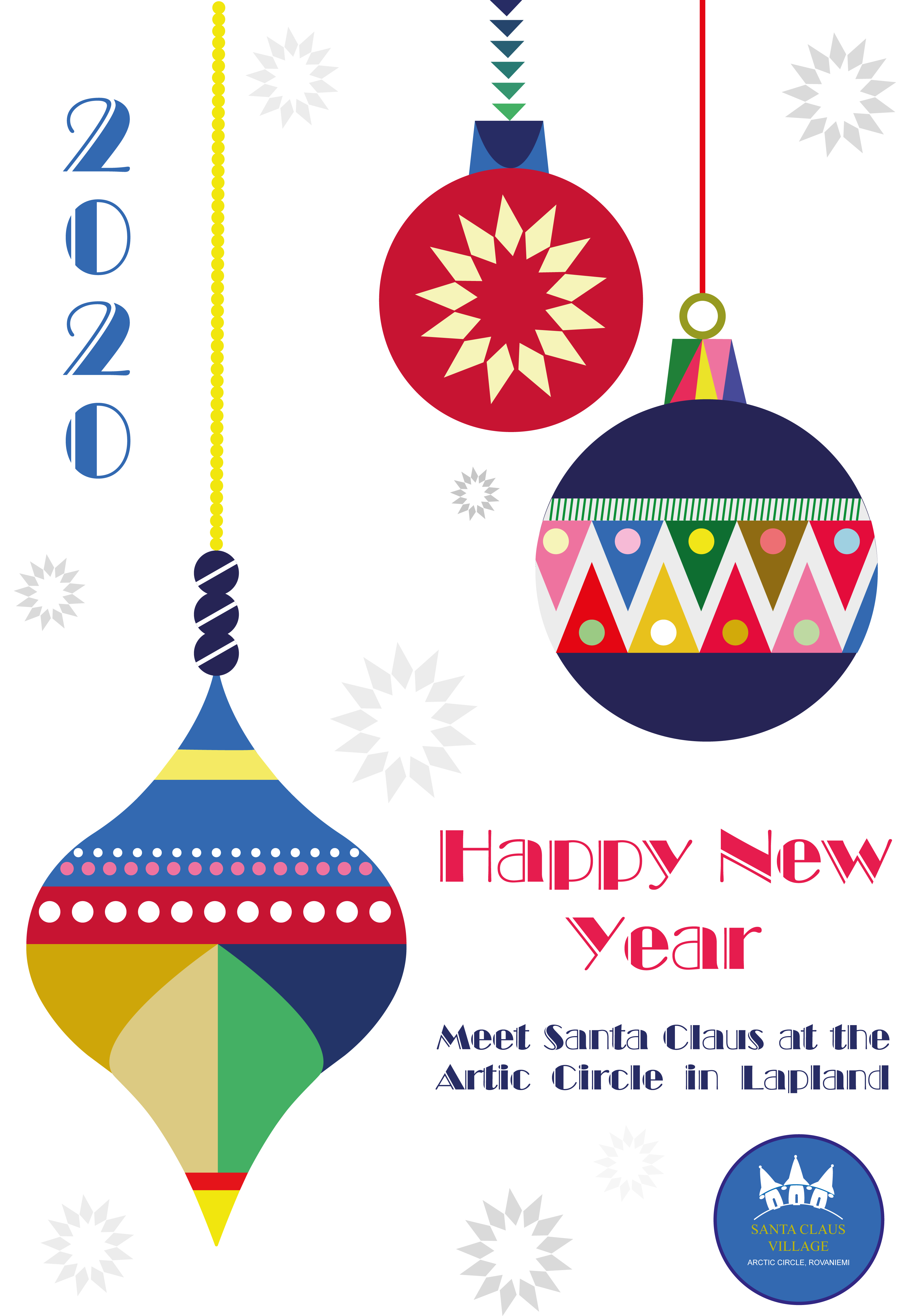 Новогодние плакаты