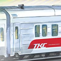 Иллюстрация к плакату компании ТКС