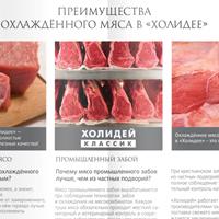 Буклет по продаже мяса компания «Холидей»