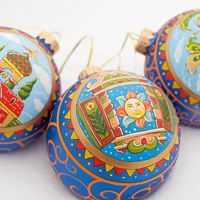 Новогодние шары «Евраз»