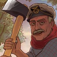 Агитационный комикс против вырубки каштановой аллеи на территории СК «Лужники»