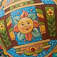 Ручная роспись шаров и открытки