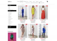 """Магазин брендовой одежды от """"Alex Lu"""""""