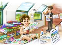 Шаблон вашего сайта для telegram