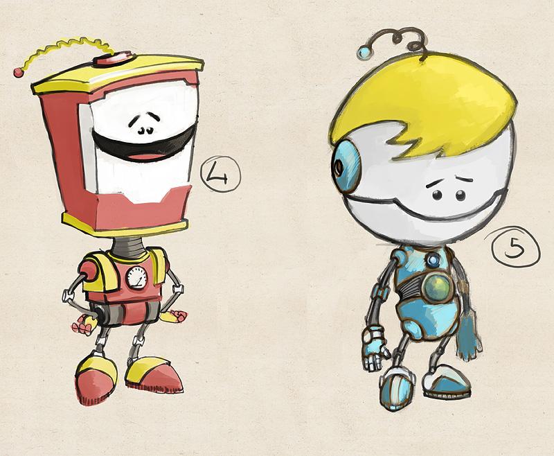 """Модель Робота - Ребёнка """"Роботёнок"""" фото f_4b4cc1094c46f.jpg"""