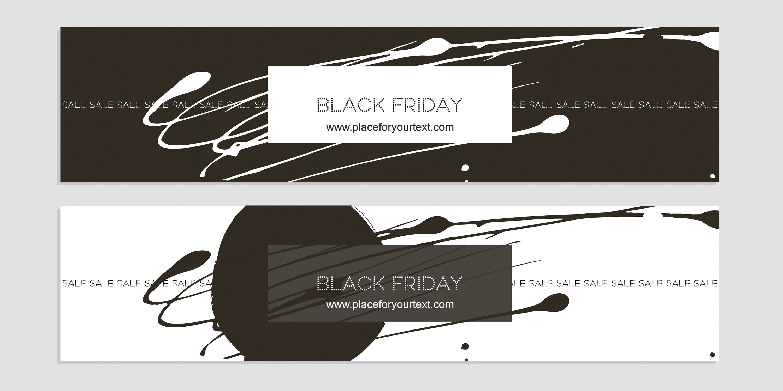 баннер Black Friday
