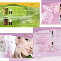 рекламный каталог 48 полос на пружине, выборочный лак на обложке