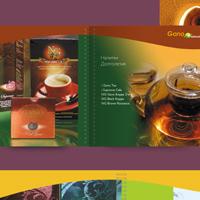 рекламный каталог 48 полос, на пружине