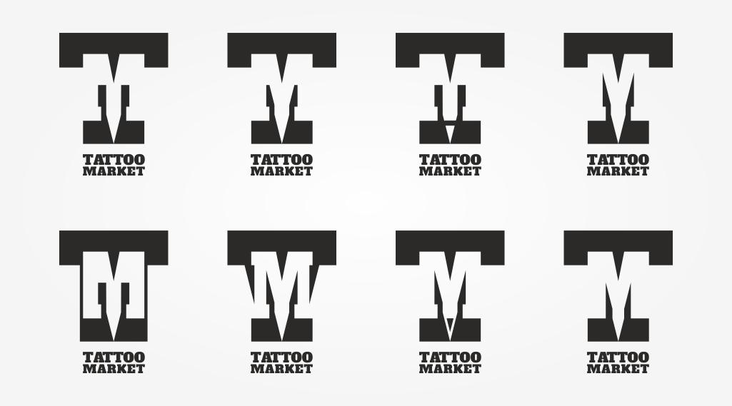 Редизайн логотипа магазина тату оборудования TattooMarket.ru фото f_4015c4040b787457.jpg