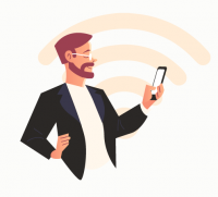 Иллюстрации для мобильного приложения