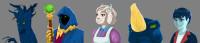 Персонажи для игры(аватары)
