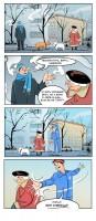 Комикс Простуда