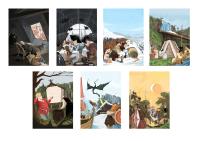 Иллюстрации для компании MKIF