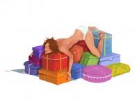 Подарков мног оне бывает