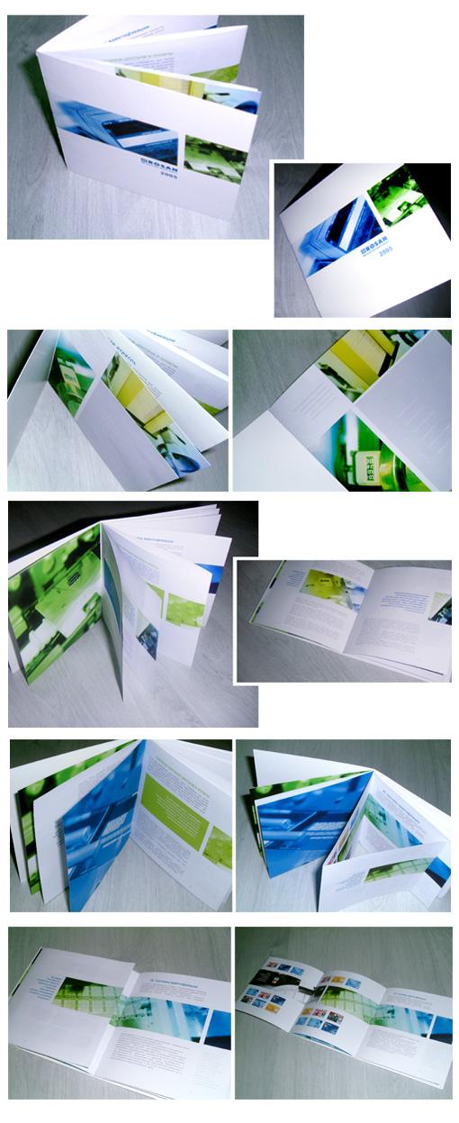 дизайн-макет буклета ROSAN