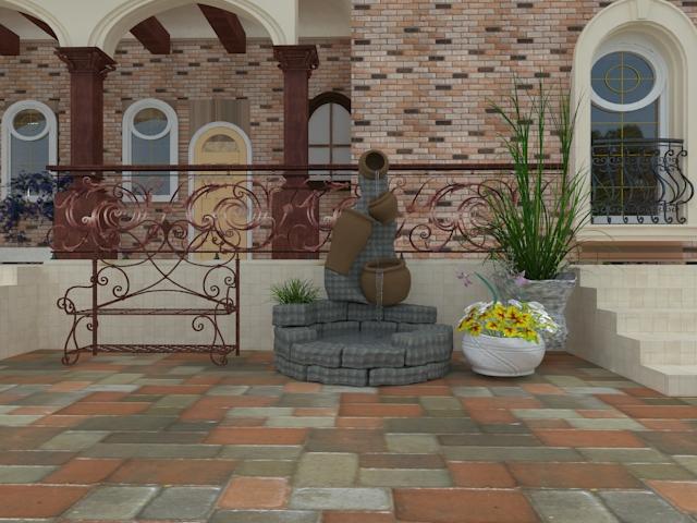 Проект по благоустройству  участка дворовой территории фото f_0065bbb2606adea3.jpg