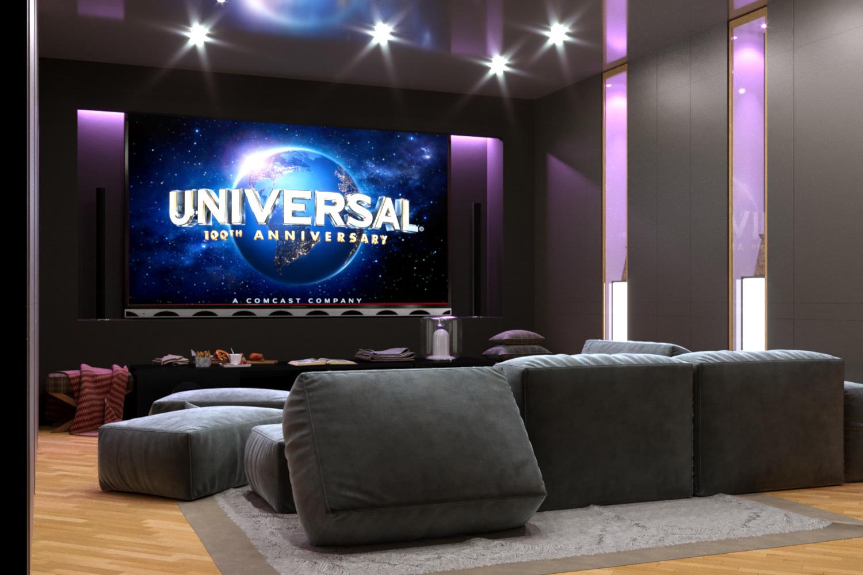 Cinema apartments