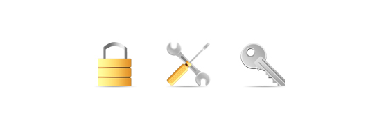 """иконки для сайта """"Мир ключей"""""""
