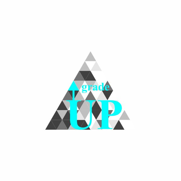 "Логотип интернет магазина ""Модный UPGRADE"" фото f_278594790d80e584.jpg"