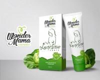 Дизайн логотипа у упаковки крема для тела