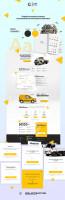 Landing page design. Мониторинг транспорта