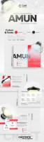 Дизайн презентации компании светильников Amun
