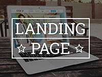 Landing page •  дизайн красивой продающей страницы