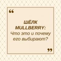 Шелк MULLBERRY