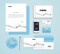 Разработка логотипа и фирменного стиля для компании Сантех+